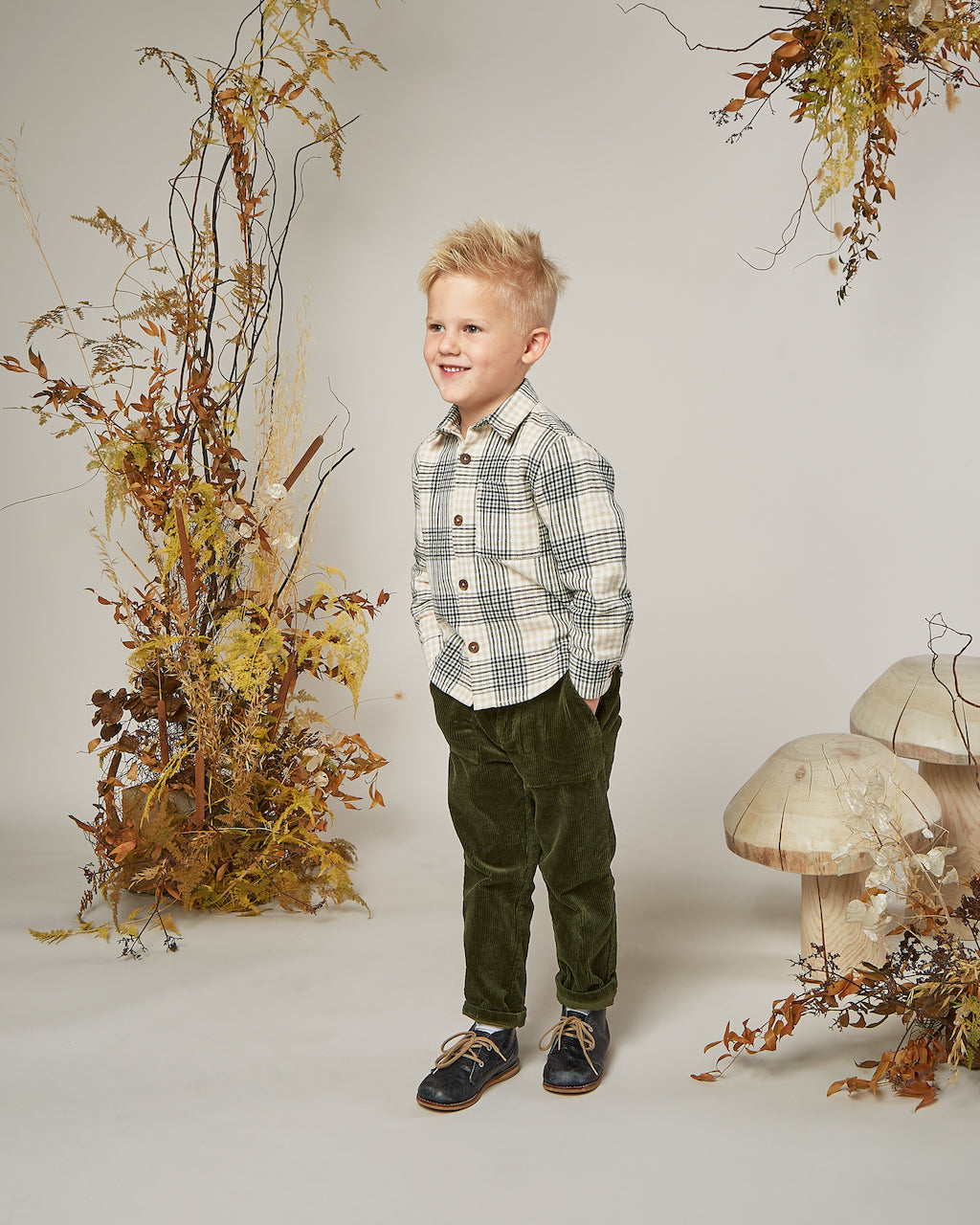 Rylee & Cru Oliver Pant in Forest