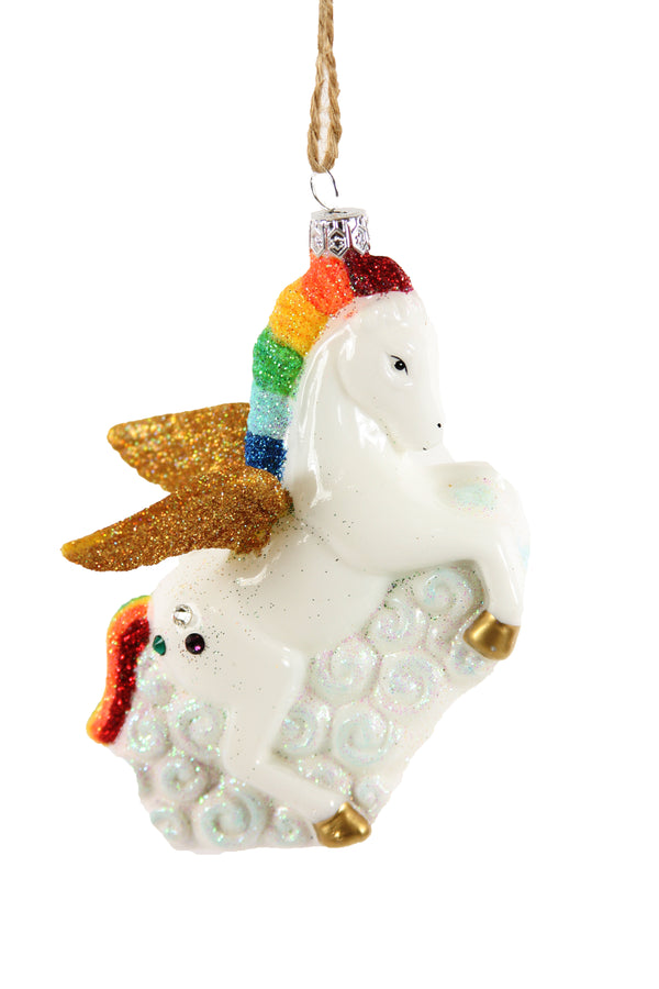 Cody Foster & Co Rainbow Unicorn Ornament | Sweet Threads