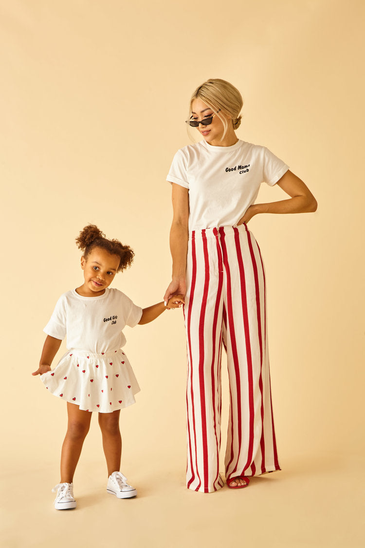 Sun Peony Coconut Good Mom Club Tee | Sweet Threads