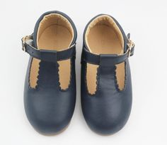 Hubble + Duke Navy Baby Shoes | Sweet Threads