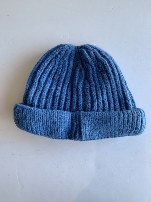 Toddler Knitted Beanie in Cobalt
