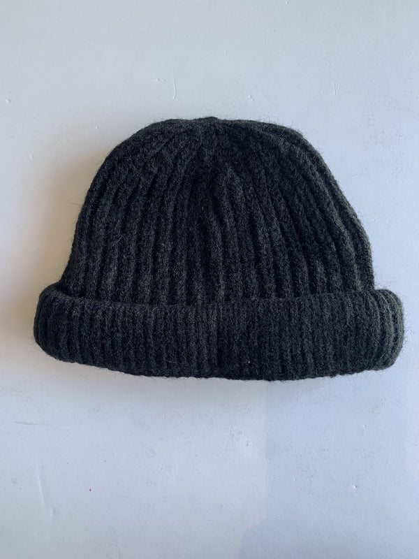 Toddler Knitted Beanie in Black