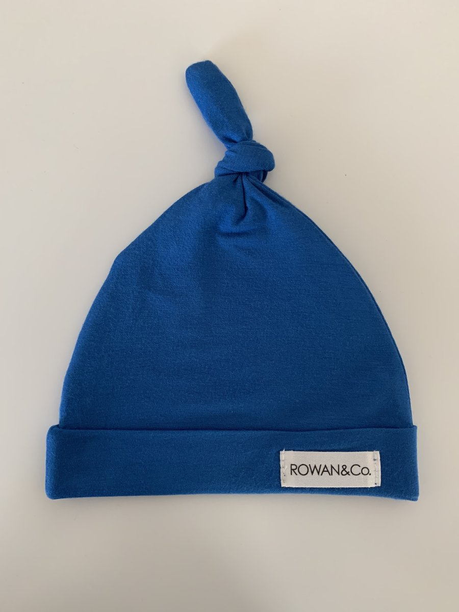 Rowan & Co Baby Beanie in Electric Blue