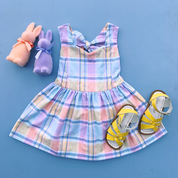 Paush The Lucy Dress in Pastel Plaid | Sweet Threads