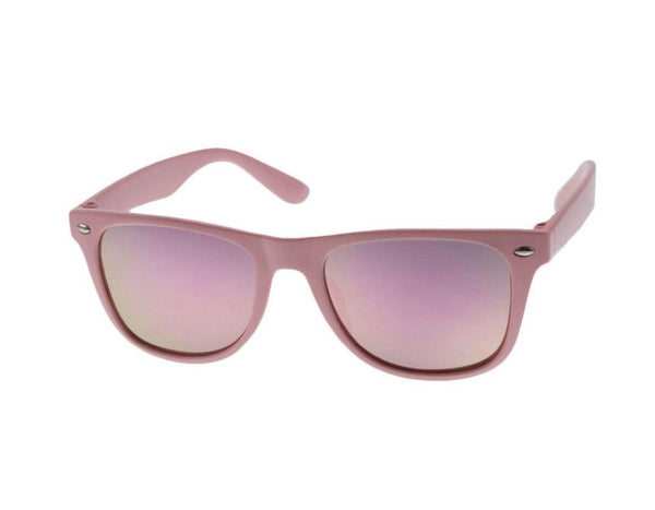 V by Vye Mini Bring the Heat Sunglasses in Pink | Sweet Threads