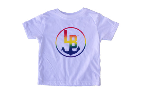 Rainbow T-shirt by Stay Anchored