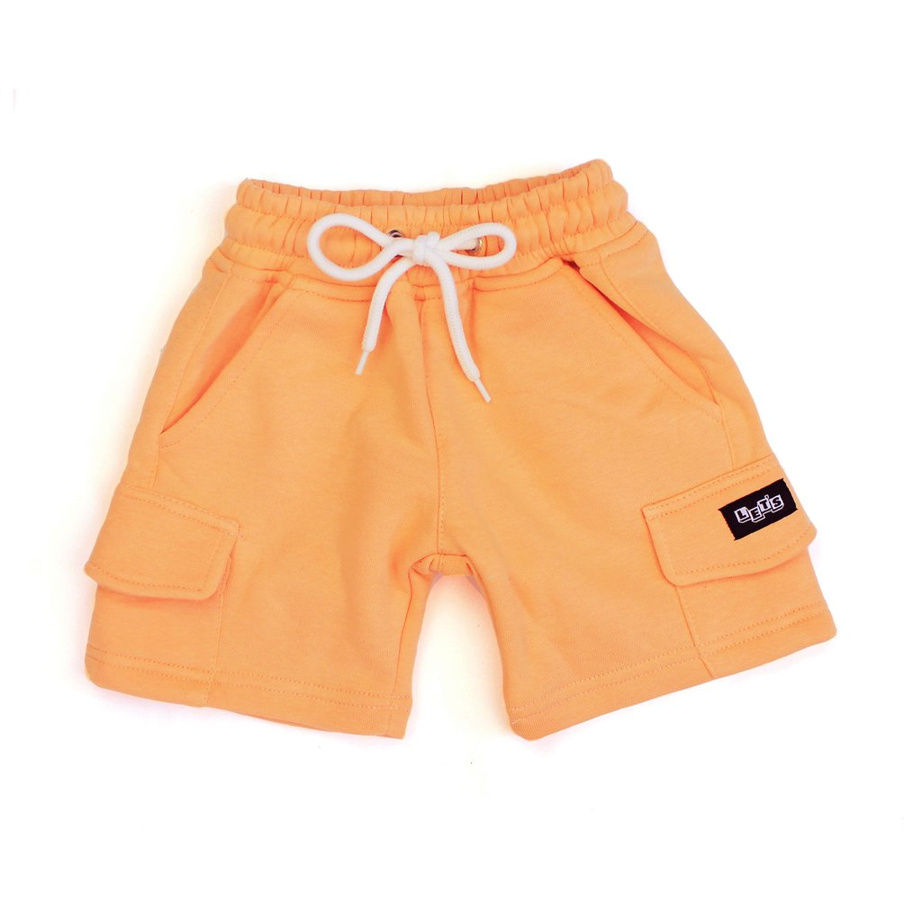 Let's Kids Fleece Cargo Short Melon