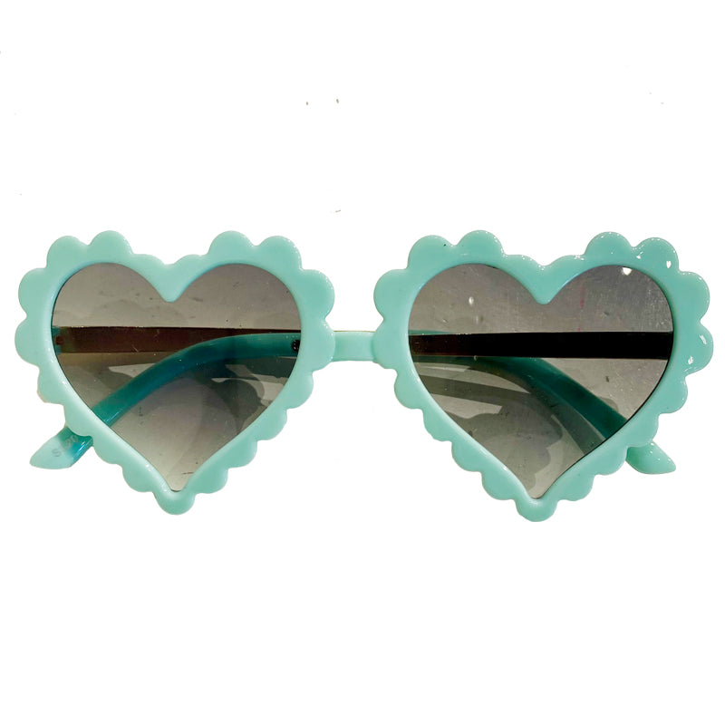 Sunnies for Sloane Mint Scalloped Amor Sunnies