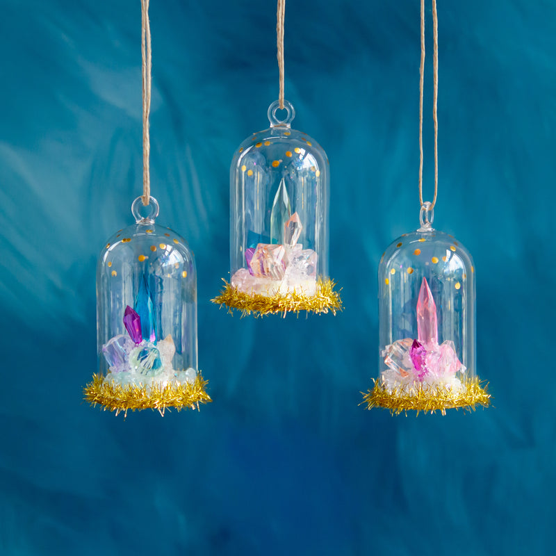 Glitterville Gem Dome Ornament | Sweet Threads
