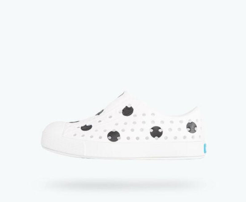 Native Jefferson Print in Shell White/ Shell White/ Jiffy Polka Dots