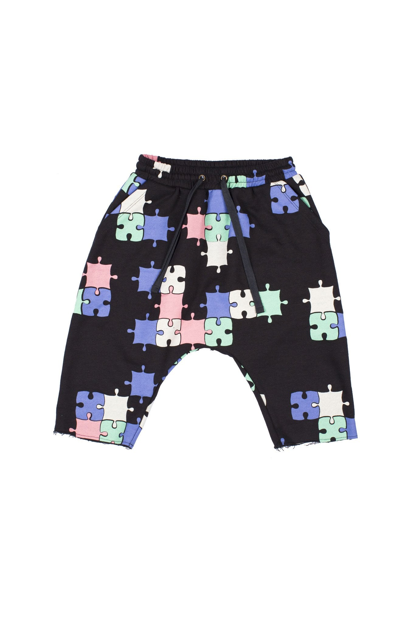 Puzzle Low Crotch Track Short by Zuttion | Sweet Threads