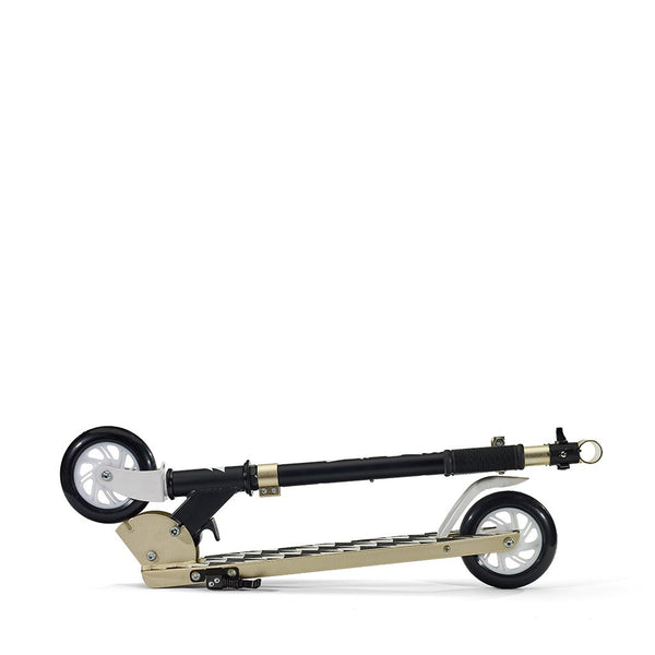 SVOLTA Legend 2-Wheel Kick Scooter in Black & Gold