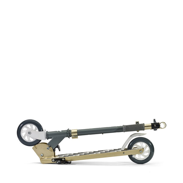 SVOLTA Legend 2-Wheel Kick Scooter in Gray & Gold
