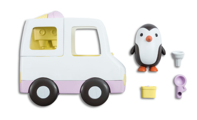Sago Mini Neville's Ice Cream Truck in White | Sweet Threads