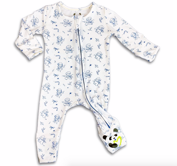 Bellabu Bear Ninja Convertible Footie | Sweet Threads