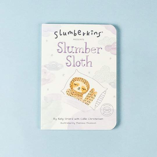 Slumberkins Summer Sloth Snuggler - Relaxation Collection