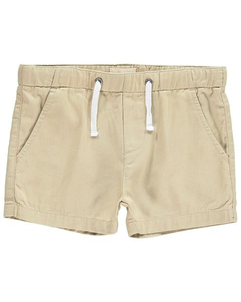 Me & Henry Woven Shorts in Stone | Sweet Threads