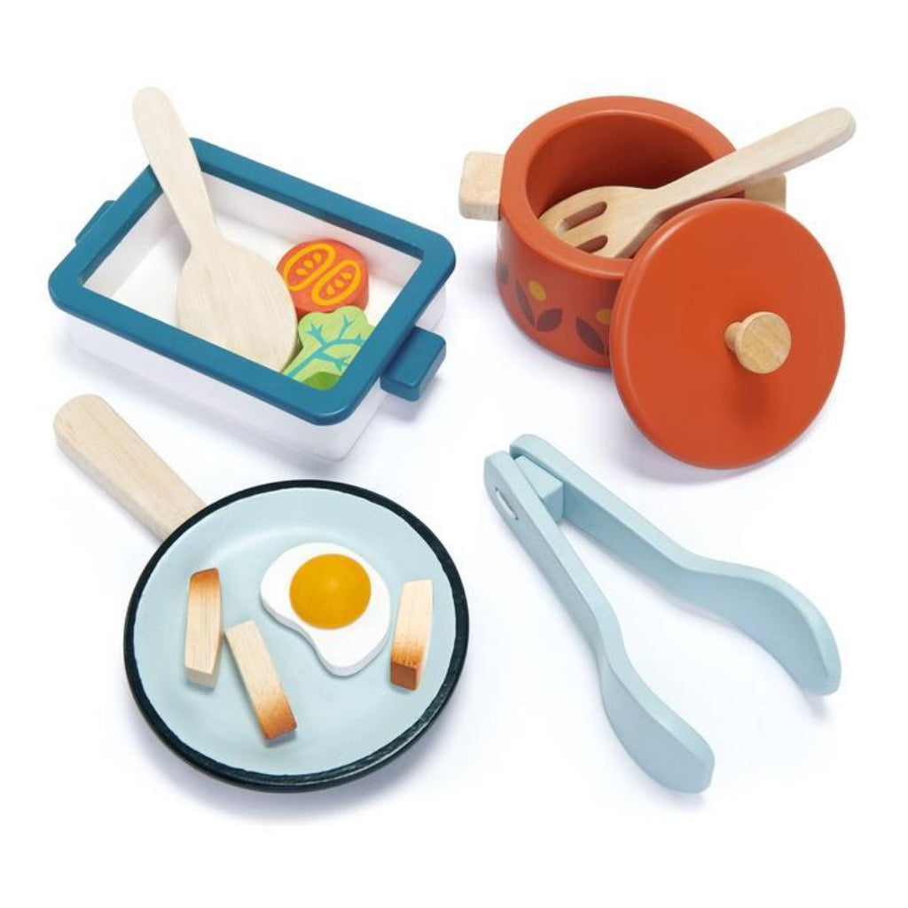 Tender Leaf Toys Mini Chef Pots and Pans
