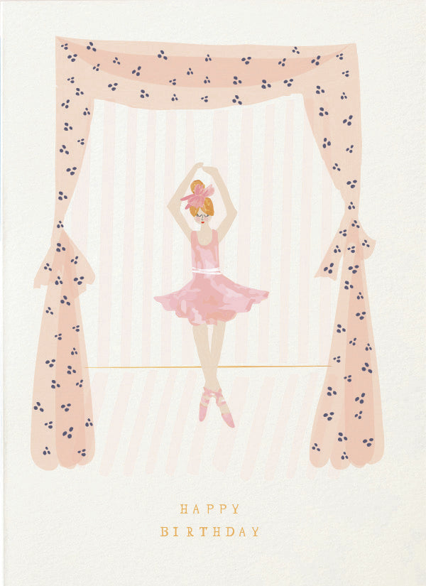 Mr Boddington THE TINIEST BALLERINA - Birthday | Sweet Threads