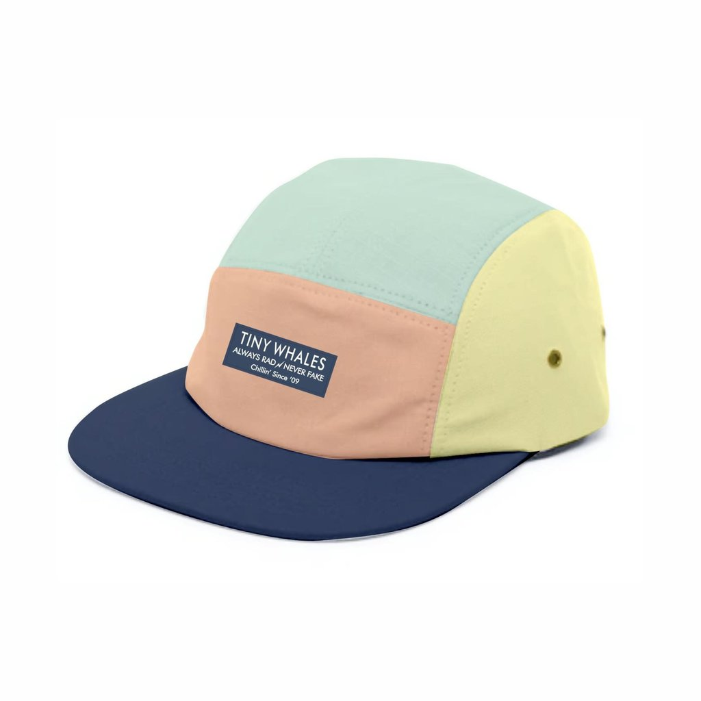 "Tiny Whales ""Shaved Ice"" Hat"