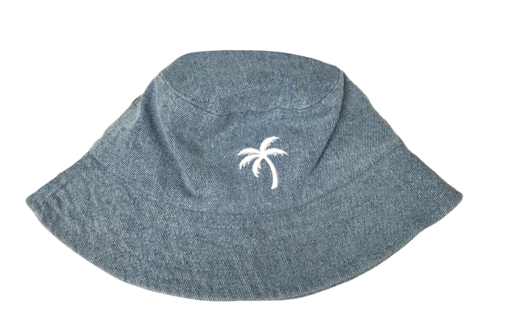 "Tiny Whales ""Palms"" Bucket Hat"