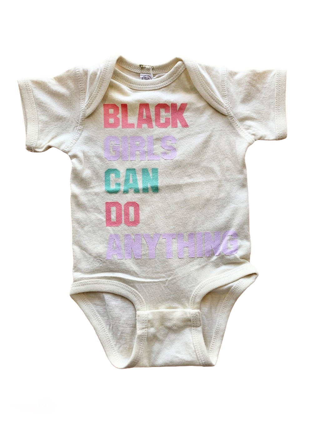 Typical Black Tee Black Girls Can Do Anything Onesie