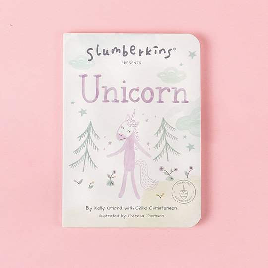 Slumberkins Unicorn Authenticity Snuggler Bundle
