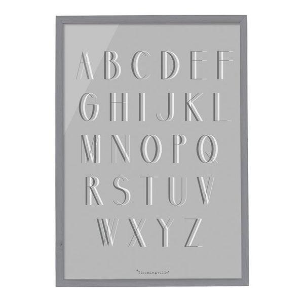 Alphabet Wall Decor by Bloomingville | Sweet Threads