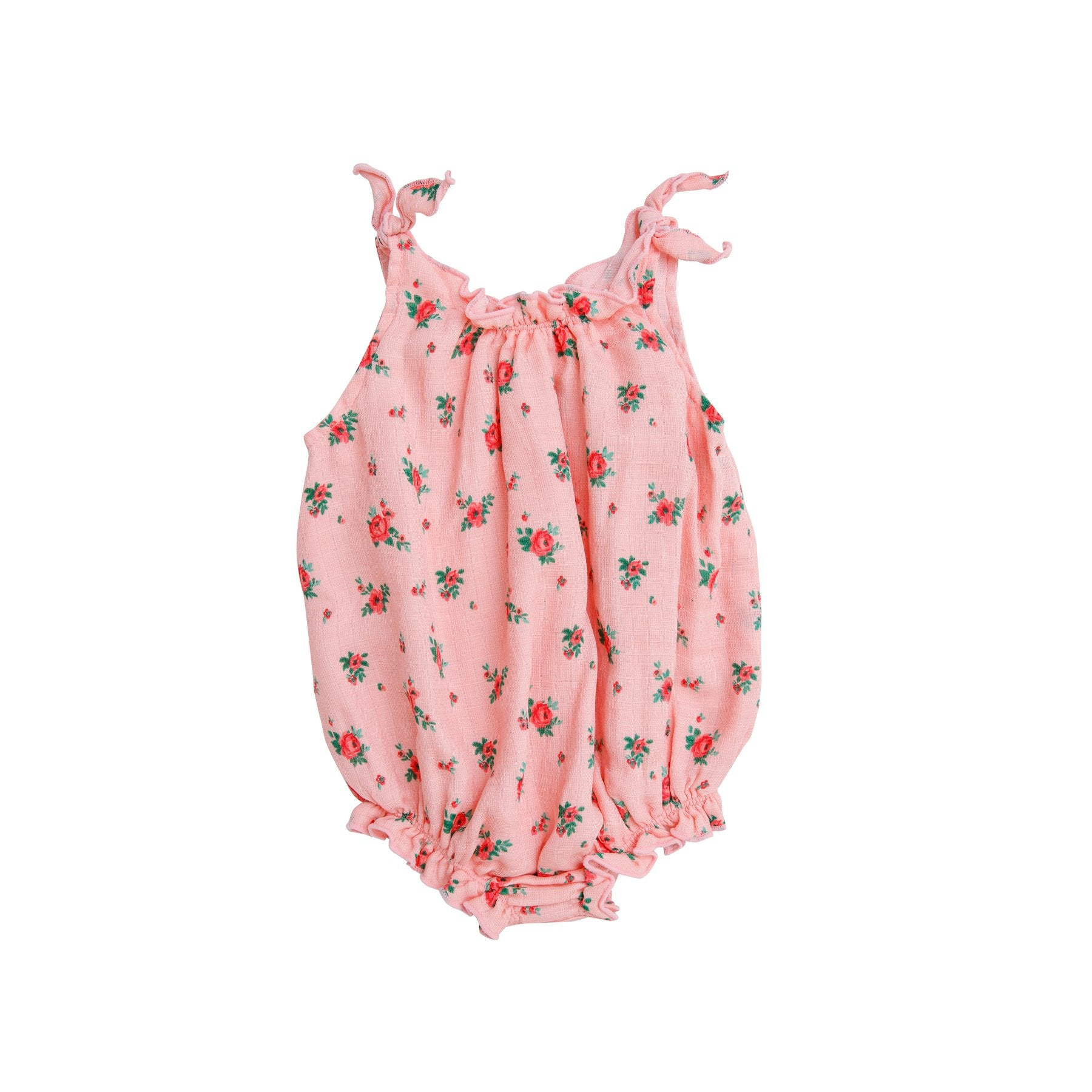 Angel Dear Mini Rose Shoulder Tie Sunsuit