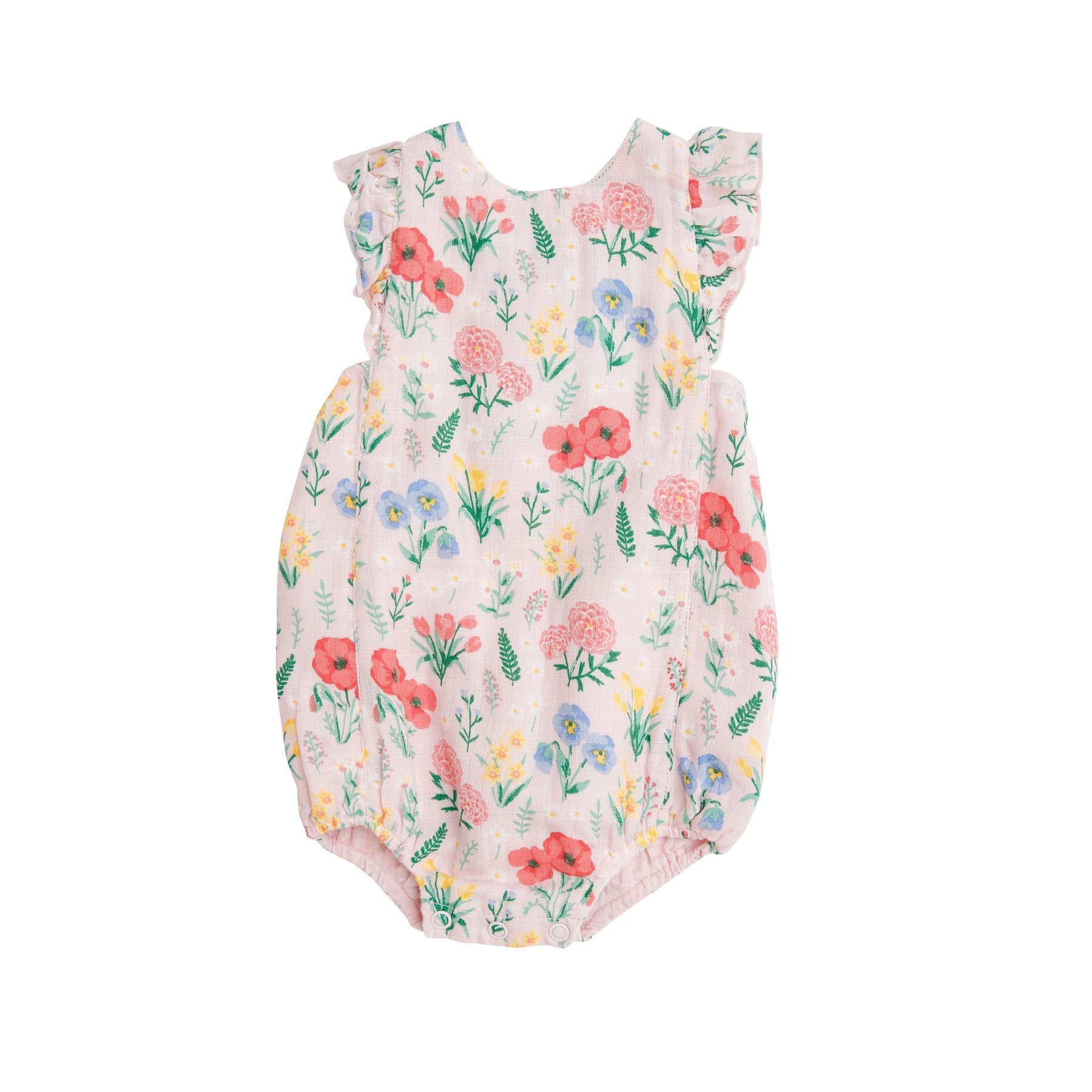 Angel Dear Summer Floral Sunsuit