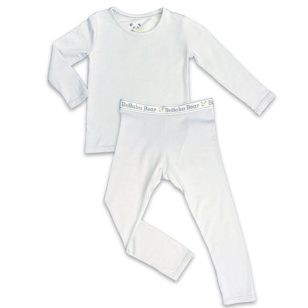 Bellabu Bear Cloud Grey Two-Piece Set | Sweet Threads