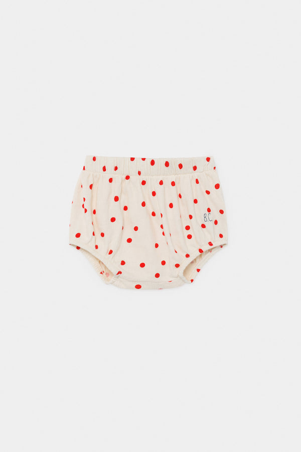 Bobo Choses Baby Dots Bloomer in Turtledove | Sweet Threads