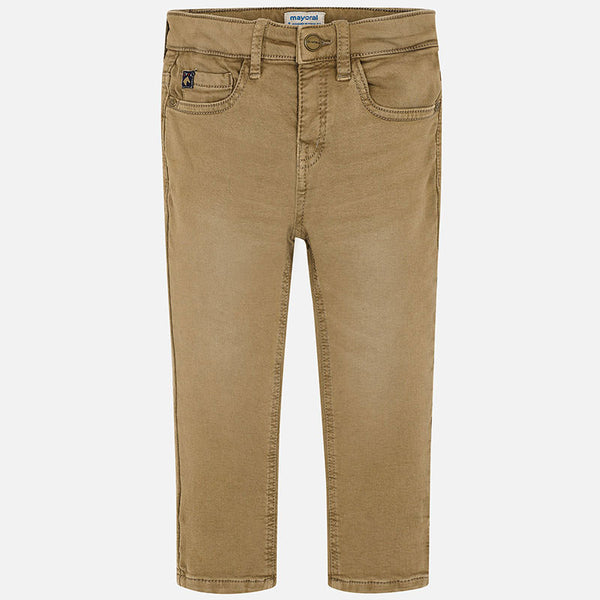 Mayoral Boy Slim Pant in Brown | Sweet Threads