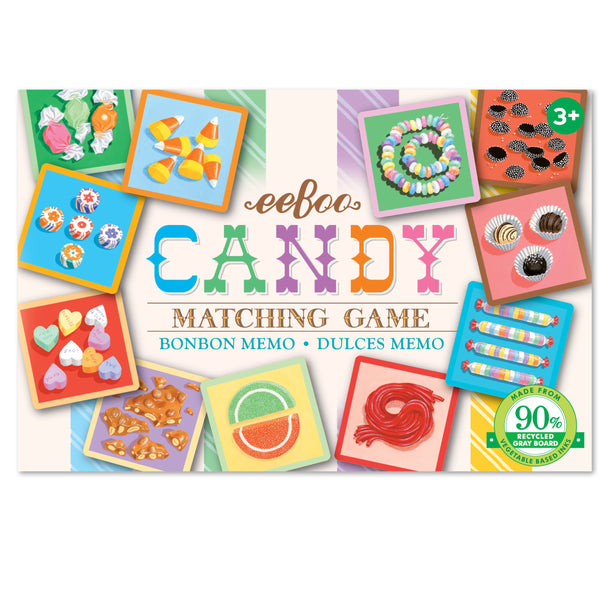 Eeboo Candy Memory & Matching Game