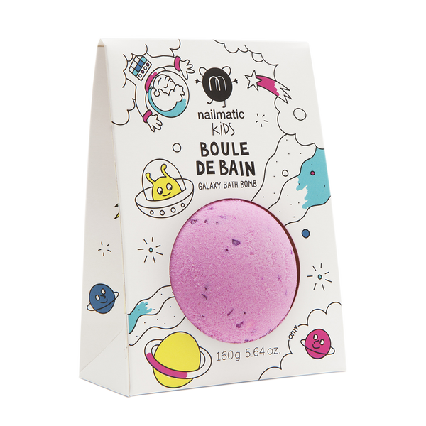 Nailmatic Colouring and soothing Cosmic bath bomb | Sweet Threads