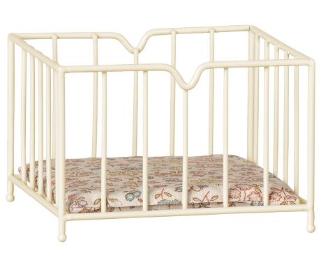 Maileg Micro Playpen in Off White | Sweet Threads