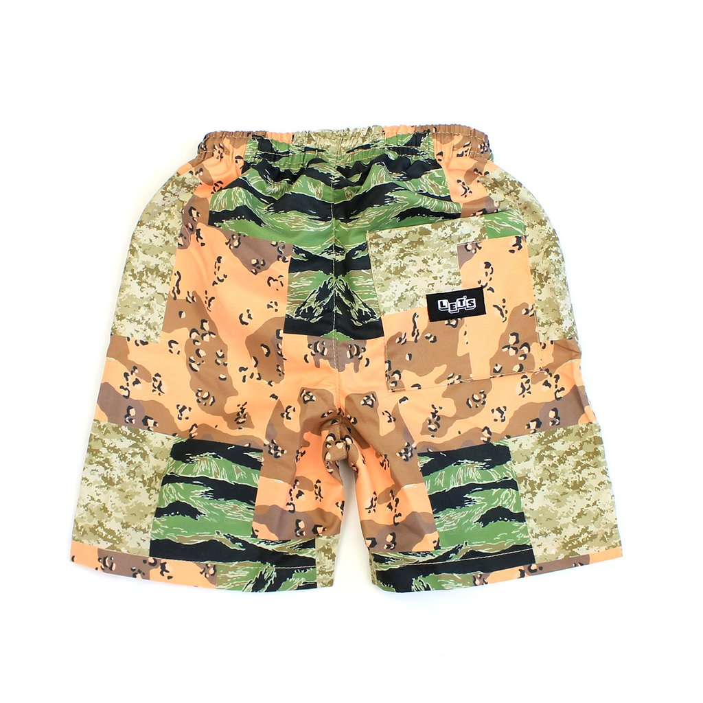 Let's Kids What the Camo Swim Trunks