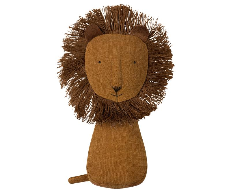 Maileg Noah's Friends Lion Rattle  | Sweet Threads