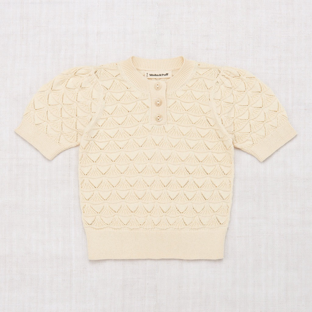 Misha & Puff Shell Pattern Top in String