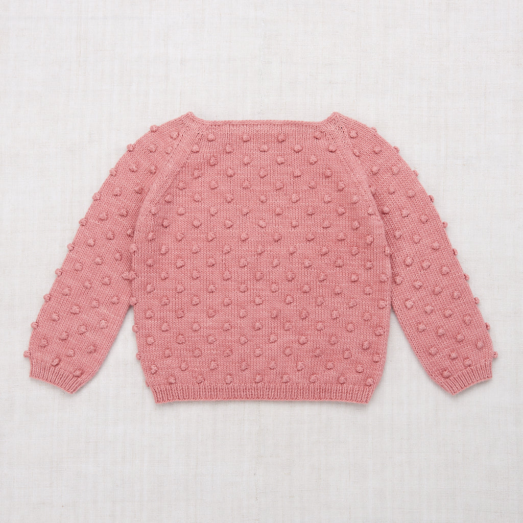 Misha & Puff Summer Popcorn Sweater in Rose Blush