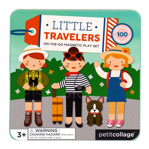 Petit Collage Litte Travelers On-The-Go Magnetic Play Set | Sweet Threads