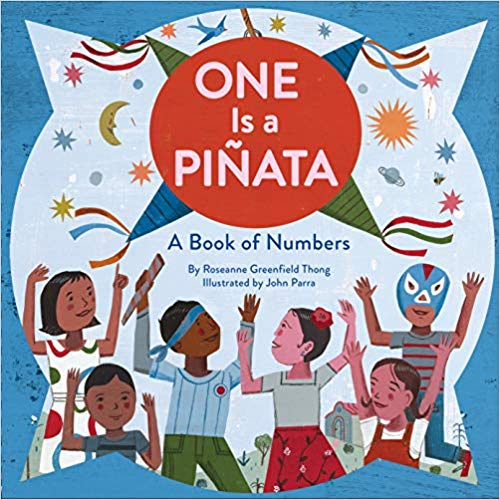 One Is a Piñata: A Book of Numbers | Sweet Threads