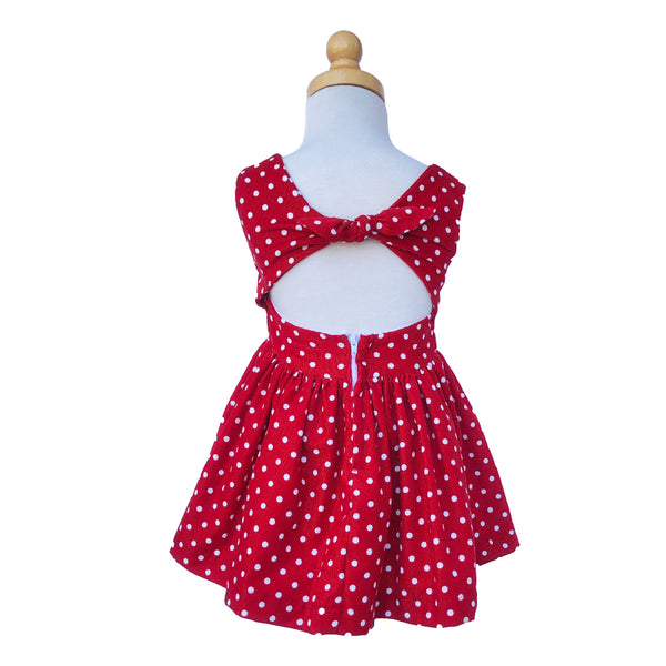 Paush The Lucy Dress in Red Polka Dot | Sweet Threads
