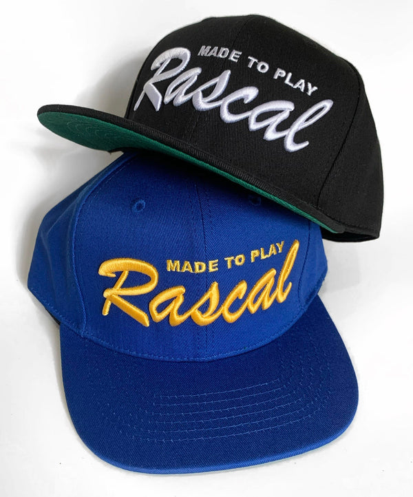 Rascal Co Six Panel Made To Play Hat Assorted Colors
