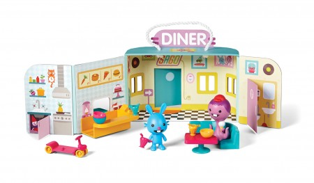 Sago Mini- Jack's Diner in Neon | Sweet Threads