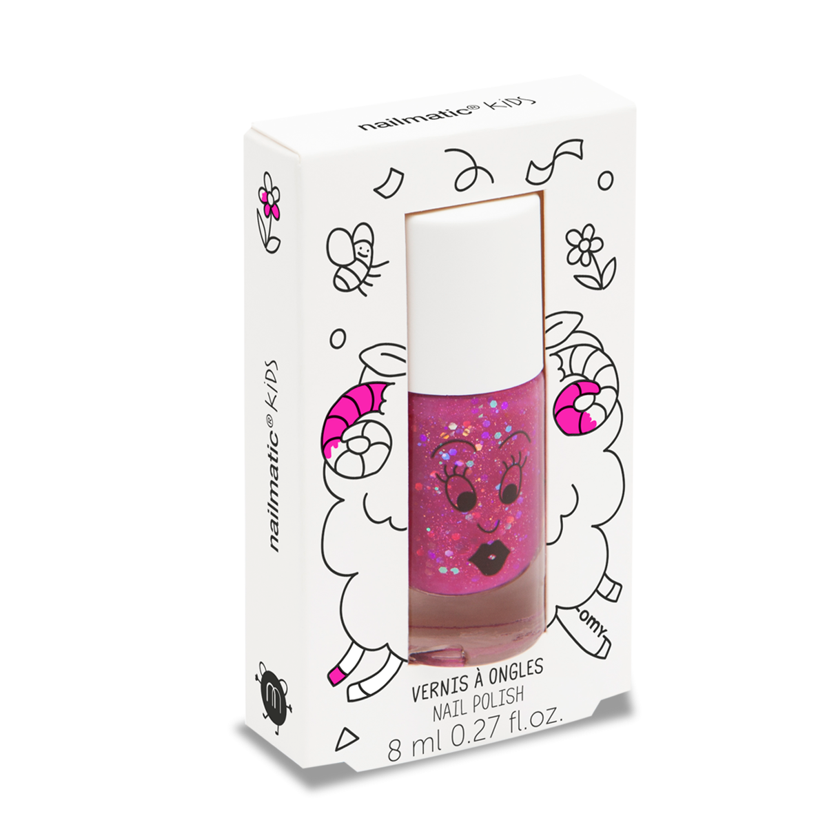 Nailmatic Water Based Nail Polish in Sheepy | Sweet Threads