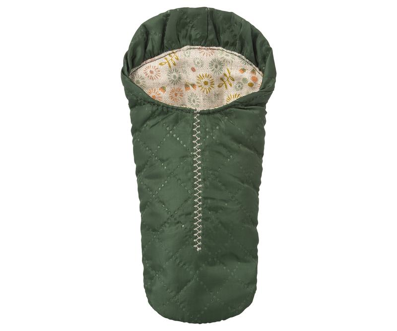 Maileg Green Sleeping Bag for Small Mouse | Sweet Threads