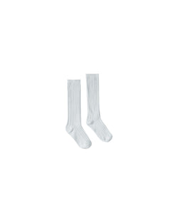 Rylee & Cru Solid Knee High Sock in Sky | Sweet Threads