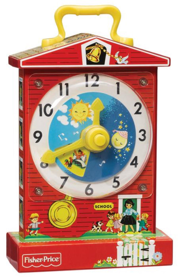 Schylling Fisher Price Teaching Clock | Sweet Threads