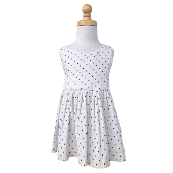 Paush The Lucy Dress in Black & White Polkadots | Sweet Threads